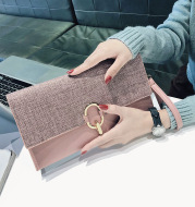 Fashion all-match temperament clutch