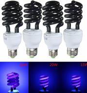 Spiral energy-saving ultraviolet fluorescent lamp