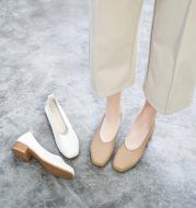 Shallow mouth all-match high heels