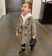 Children's autumn and winter coat