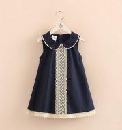Baby doll collar dress