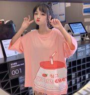 Summer women's loose T-shirt