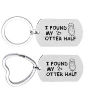 Couple keychain lovers gift