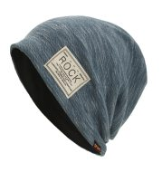 ROCK cloth label double-layered head cap pile cap
