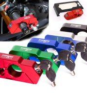 Handle anti-theft lock throttle lock