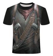 Men's 3D Digital Print T-shirt