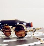 Hipster punk style classic retro sunglasses