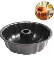 Round Deep Baking Mold Bundt Pumpkin Shape Cake Pan