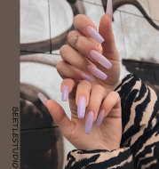 Naked Purple Gradient Wearable Nail Patch