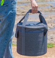 Crystal bowl bag canvas bag Buddha sound bowl bag music bowl bag