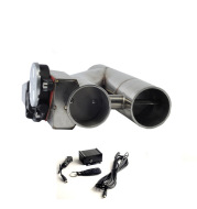 Universal sound wave remote control Y type exhaust valve