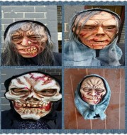 Latex Horror Headgear