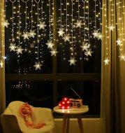 LED ice bar lamp snowflake hanging