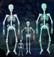 Luminous Skeleton Halloween Skeleton Event Props