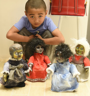 Halloween Decoration Walking Doll