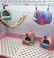 Hamster warm sleeping bag nest