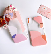 Geometric color matching phone case