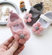 Princess shoes woolen female baby shoes