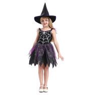 Halloween Children Witch Costume