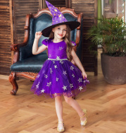 Costume child witch dress