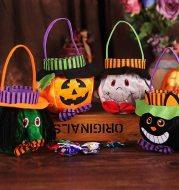 Halloween Candy Bags Cute Gift Bag Pumpkin Witch Candy Boxes