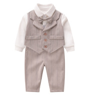 Baby gentleman romper suit