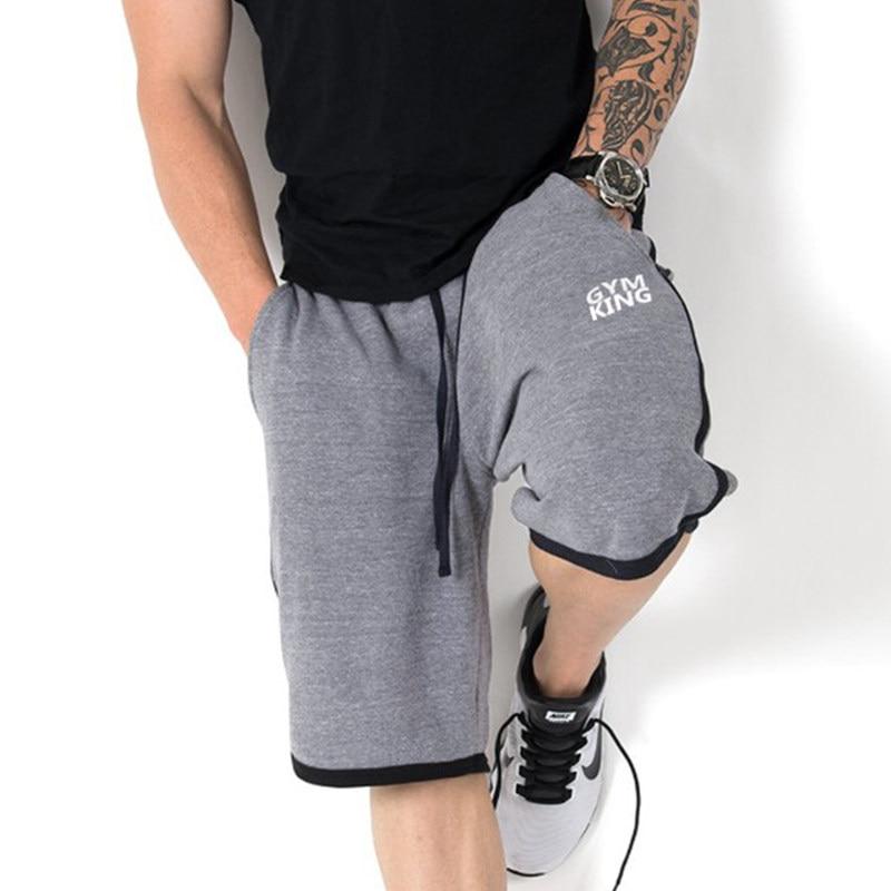 Mens Knee Length Gym Shorts