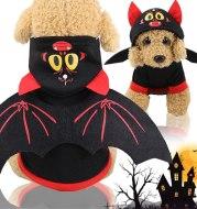 Halloween Bat Wings Pet Clothes