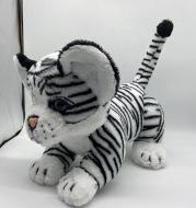 Genuine pet friend plush toy curious plush pet tiger toy girl