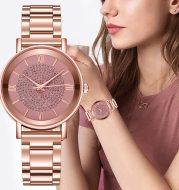Women's gypsophila quartz watch