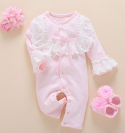 Half-year-old baby girl's jumpsuit