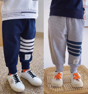 Boys' comfortable casual pants sports trousers