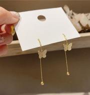 Premium sense tassel earrings butterfly earrings