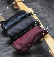 Cowhide leather duffel bag