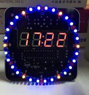 Electronic clock kit