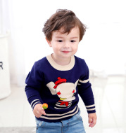 Children's knitted sweater