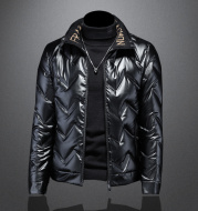 Motorcycle jacket down jacket