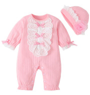 Baby girl fall/winter jumpsuit