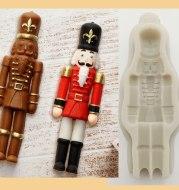 Christmas Guard Fondant Cake Chocolate Mould