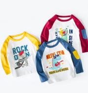 children's clothing wholesale boys autumn long sleeve T-shirt