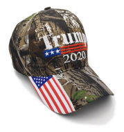 Spot 2021 US election Trump President Trump camouflage baseball cap Trump2021 campaign hat