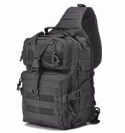 Chenhao tactical satchel single shoulder waterproof camouflage single shoulder chest hanging bag attack patrol backpack military fans messenger bag