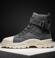 All-match tooling boots men's shoes