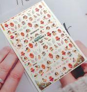 Angel Nail Sticker