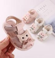 Transparent non-slip rubber toddler shoes