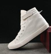 Velcro student canvas shoes