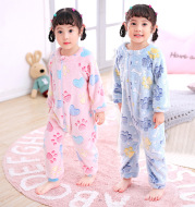 Autumn and winter infant pajamas