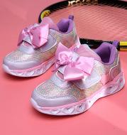 Girls' colorful luminous shoes