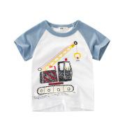 Children's cartoon car T-shirt