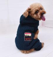 Four-legged thick pet clothes